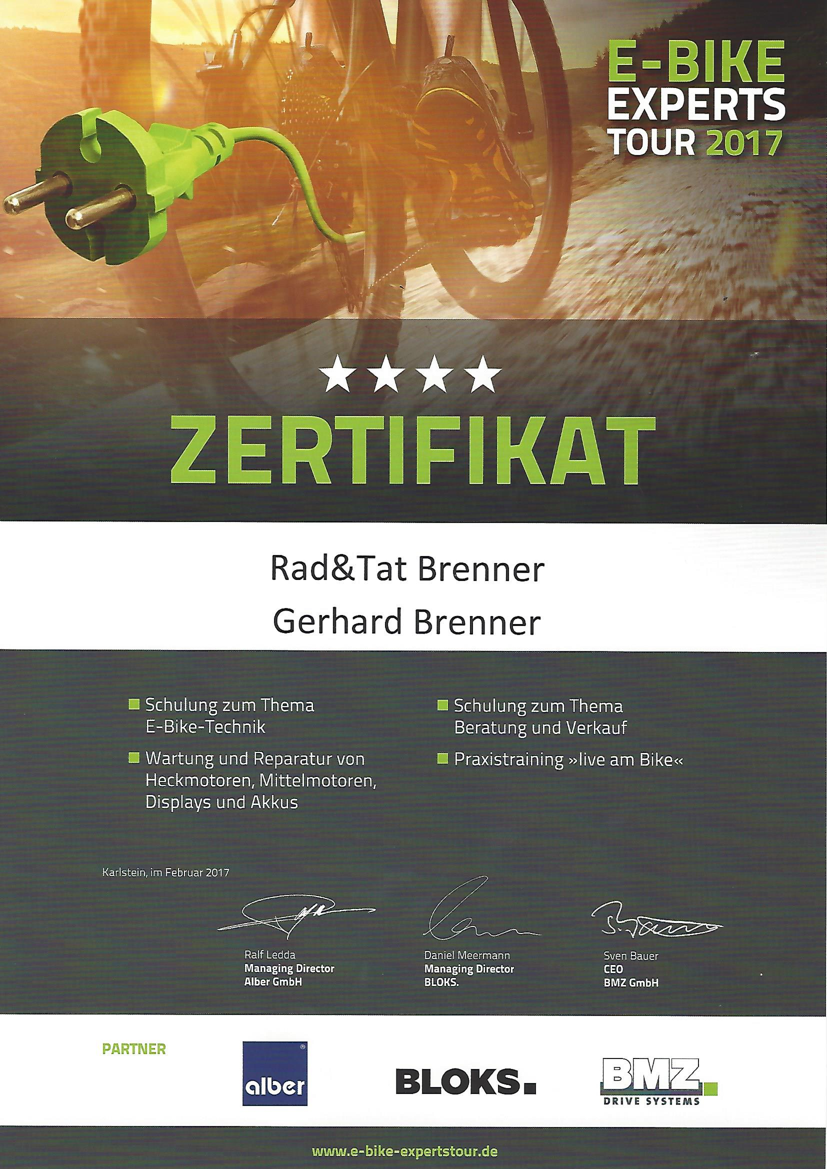 ebike-Experts-Tour 2017